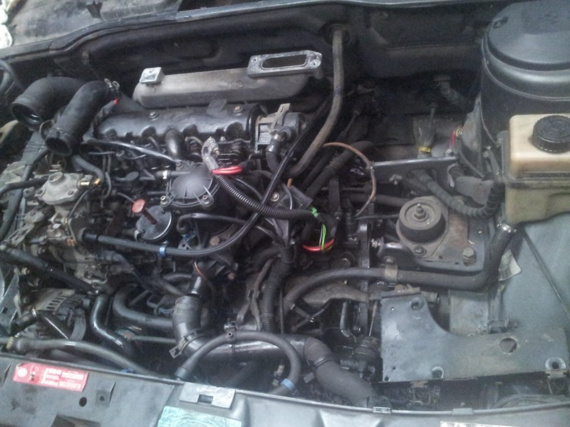 demontage moteur boite pour bonne révision 2015-114