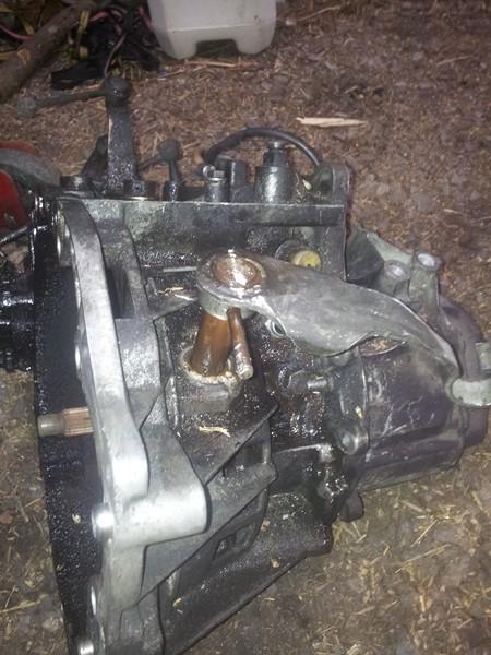 demontage moteur boite pour bonne révision 2015-121