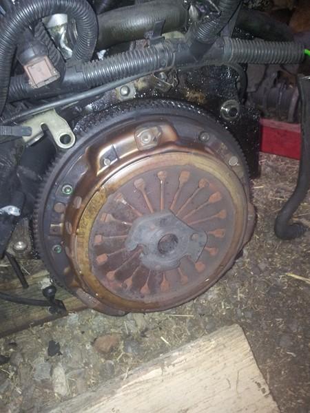 demontage moteur boite pour bonne révision 2015-122