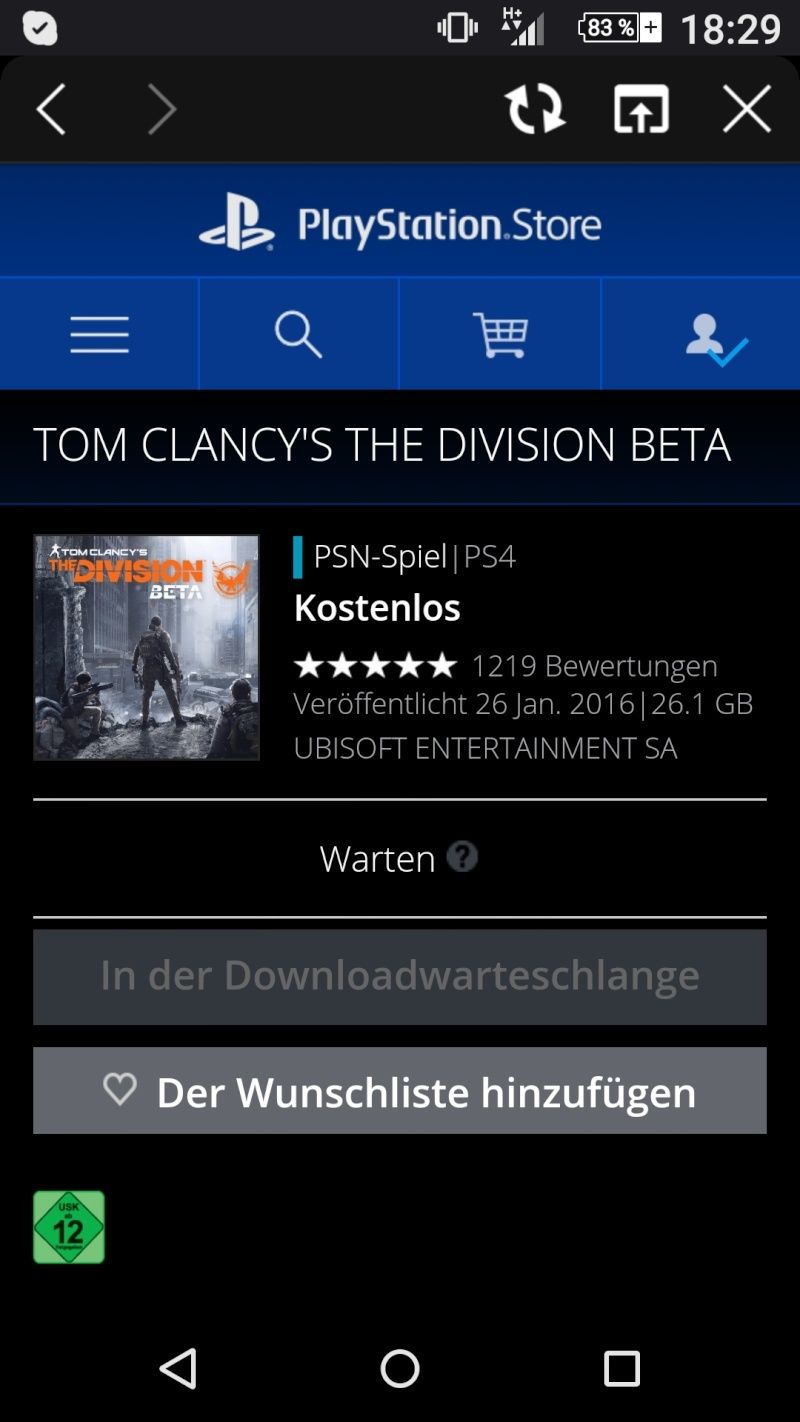Tom Clancy´s Division Screen10