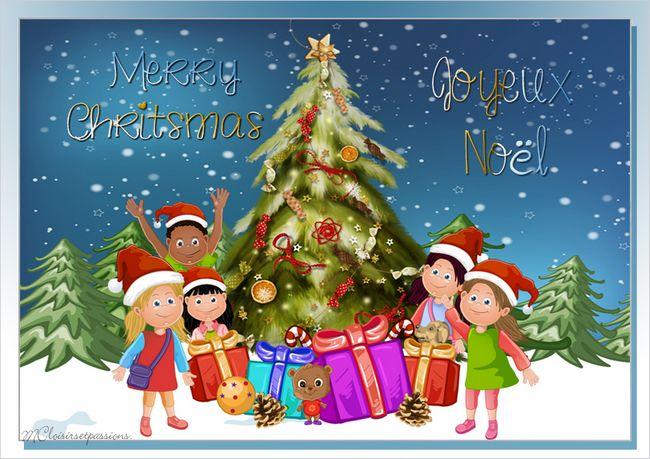 Carte de Noël N°2 Enfant10