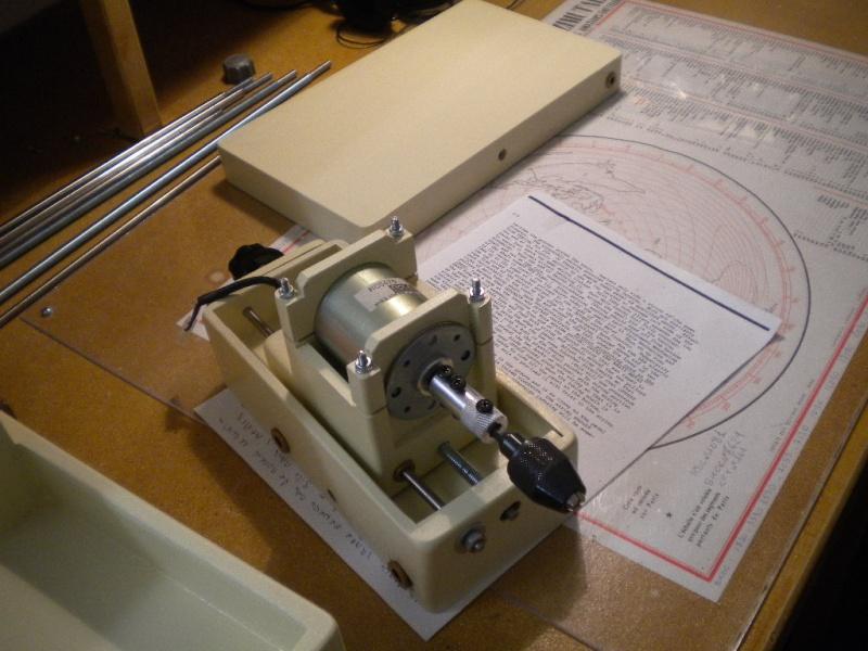 CNC V1 en médium pour gravure de PCB Dscn1614