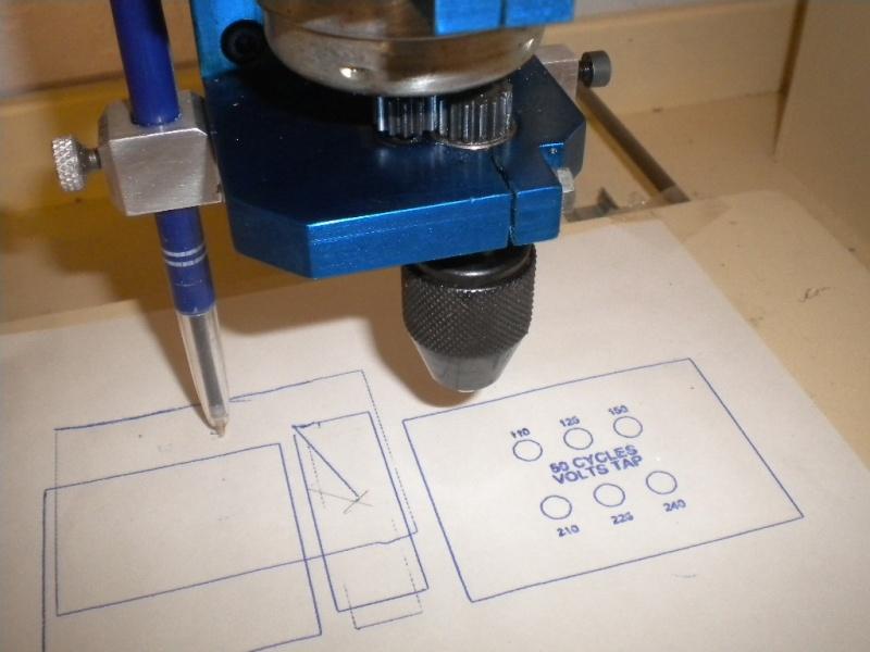 CNC V1 en médium pour gravure de PCB Dscn1811