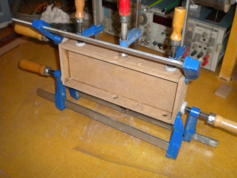 CNC V1 en médium pour gravure de PCB Trans110
