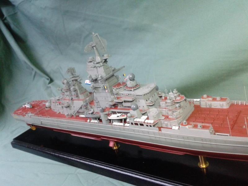 Croiseur Admiral Lazarev 1/350ème Trumpeter + SSN class Alfa 1/350ème Dragon 20160132