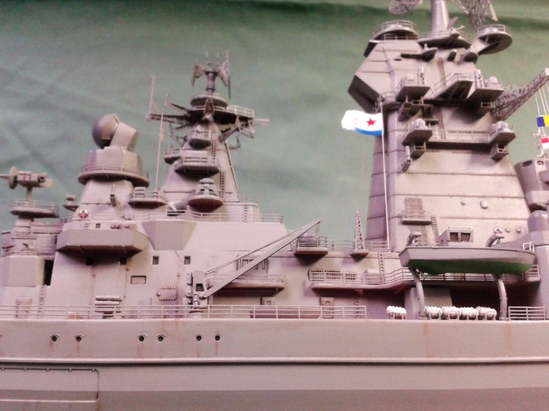 Croiseur Admiral Lazarev 1/350ème Trumpeter + SSN class Alfa 1/350ème Dragon 20160135