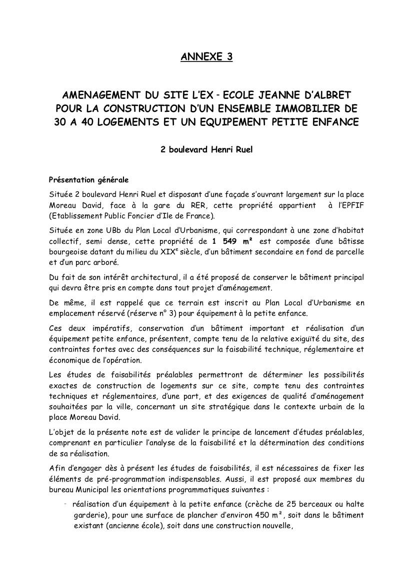 nouvelle résidence au RER Bois Bd Henri-Ruel Annexe10