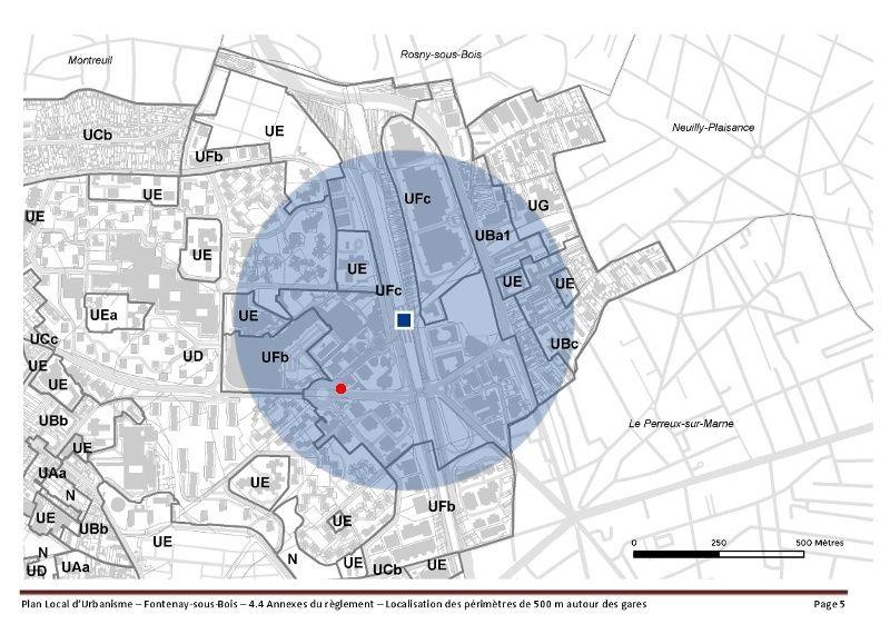 Densification - Extension de l'hotel Ibis de la place du Général de Gaulle Captur21