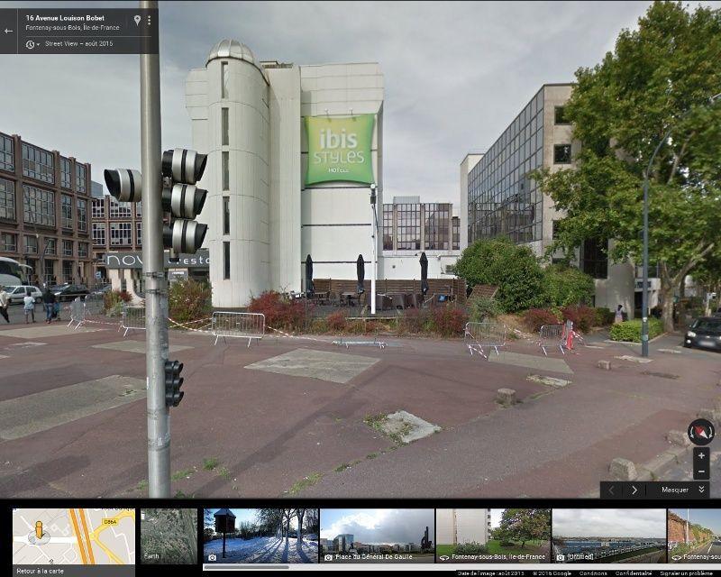 Densification - Extension de l'hotel Ibis de la place du Général de Gaulle Captur22
