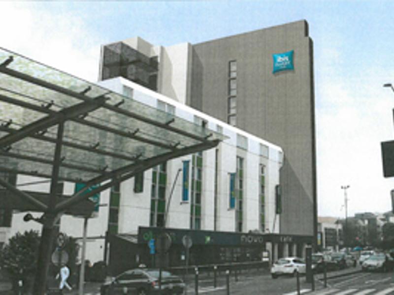 Densification - Extension de l'hotel Ibis de la place du Général de Gaulle Hotel_10