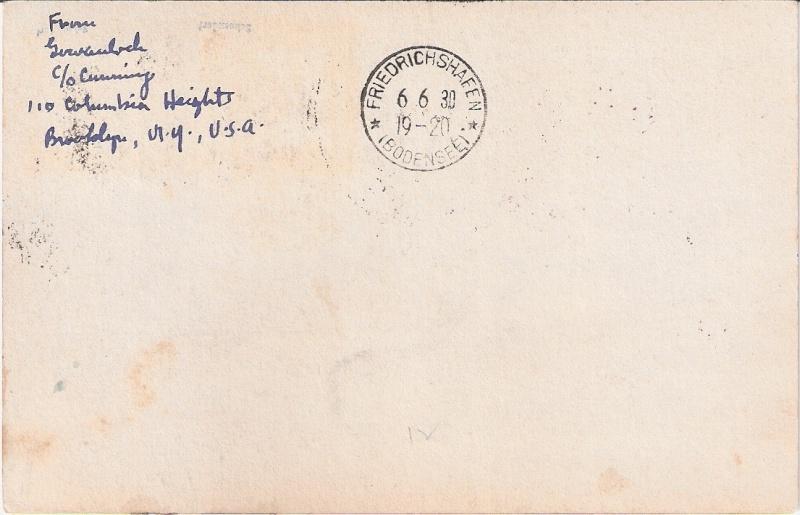 """nach - Südamerikafahrt 1930 (Rundfahrt-) Post nach Friedrichshafen"""" - Seite 6 Brasil11"""