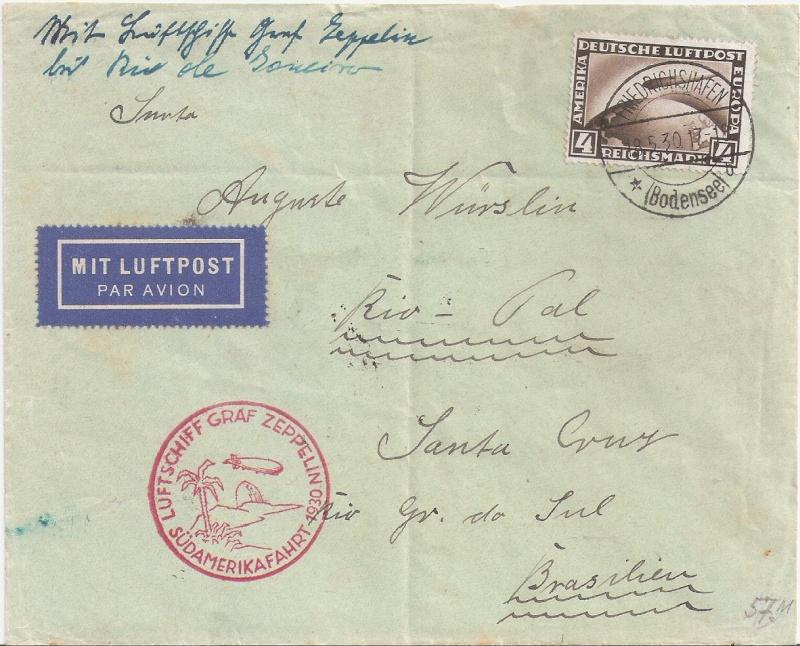 nach - Südamerikafahrt 1930, Post nach Rio de Janeiro - Seite 2 Rio_do10