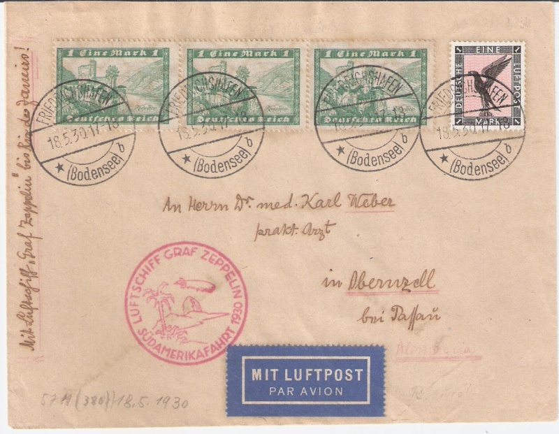 nach - Südamerikafahrt 1930, Post nach Rio de Janeiro - Seite 2 Rio_pa10