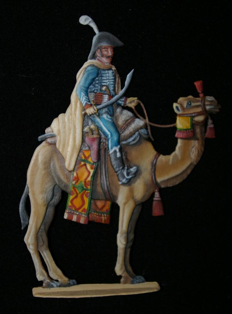 officier régiment des dromadaires en Egypte  GLORIOUS EMPIRE 54 MM Cadres13