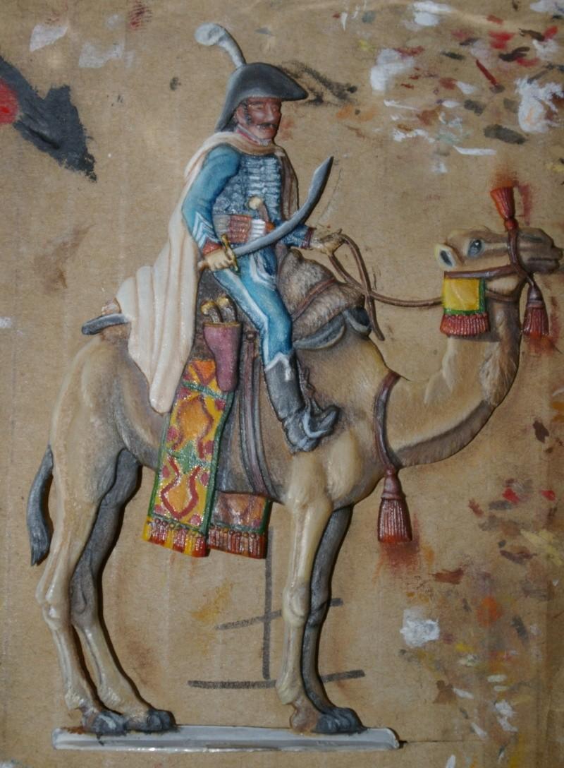 officier régiment des dromadaires en Egypte  GLORIOUS EMPIRE 54 MM Dro_0016