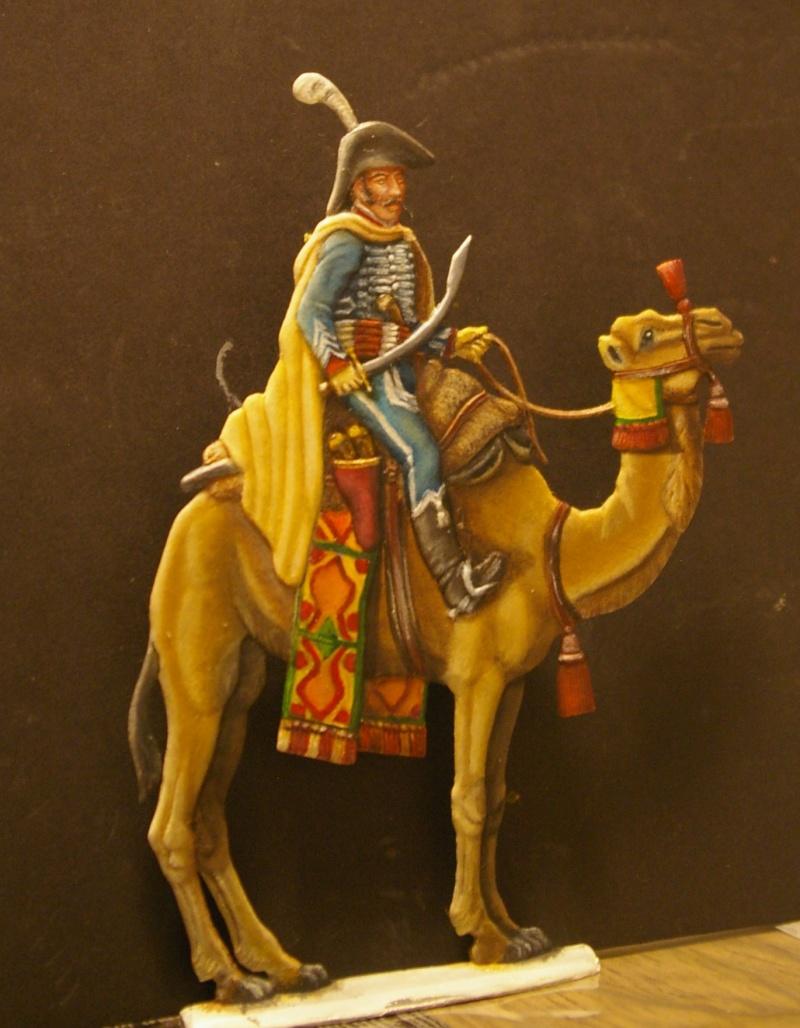 officier régiment des dromadaires en Egypte  GLORIOUS EMPIRE 54 MM Dro_0020