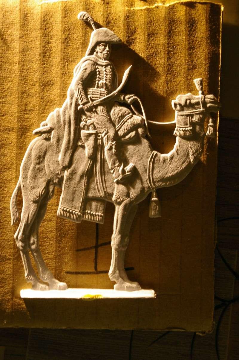 officier régiment des dromadaires en Egypte  GLORIOUS EMPIRE 54 MM Drom_022