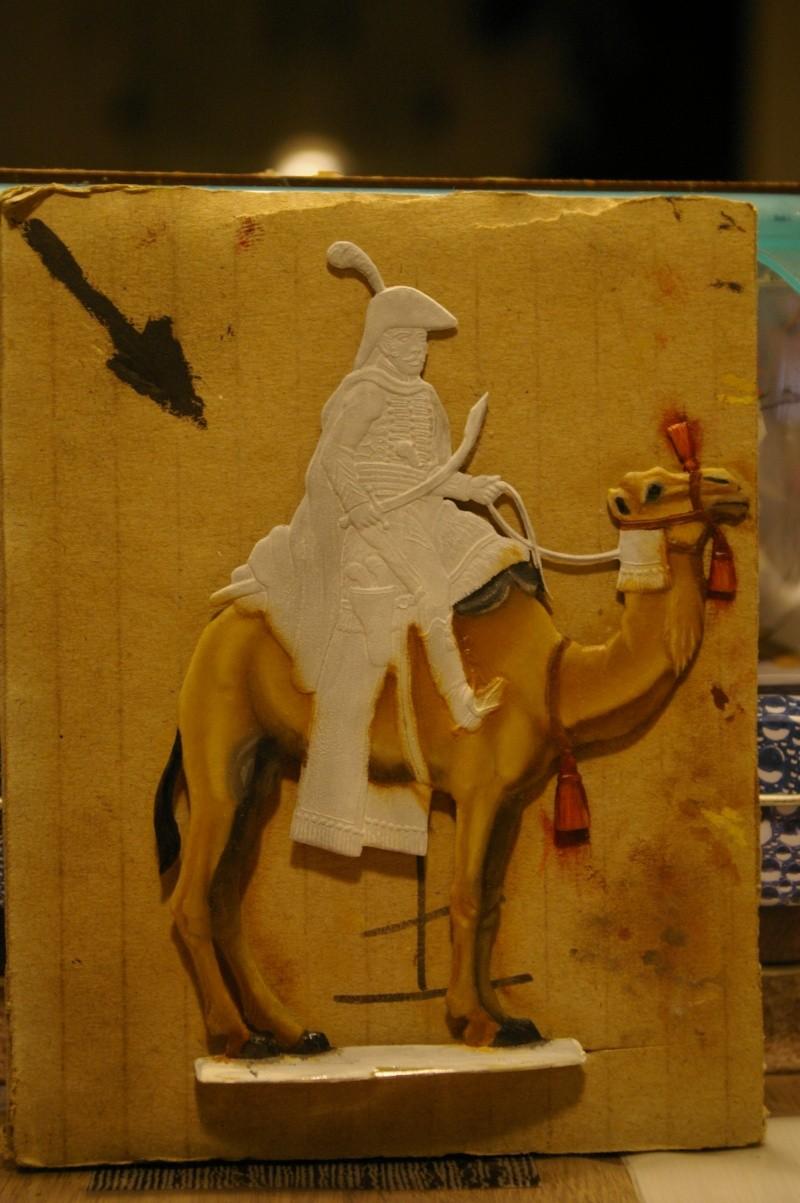 officier régiment des dromadaires en Egypte  GLORIOUS EMPIRE 54 MM Drom_026