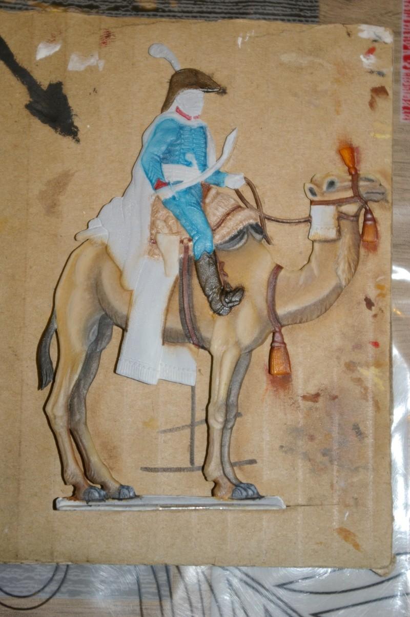 officier régiment des dromadaires en Egypte  GLORIOUS EMPIRE 54 MM Drom_031