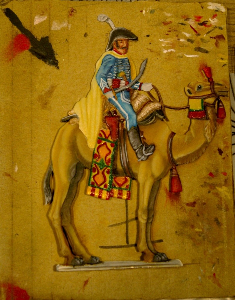 officier régiment des dromadaires en Egypte  GLORIOUS EMPIRE 54 MM Drom_034