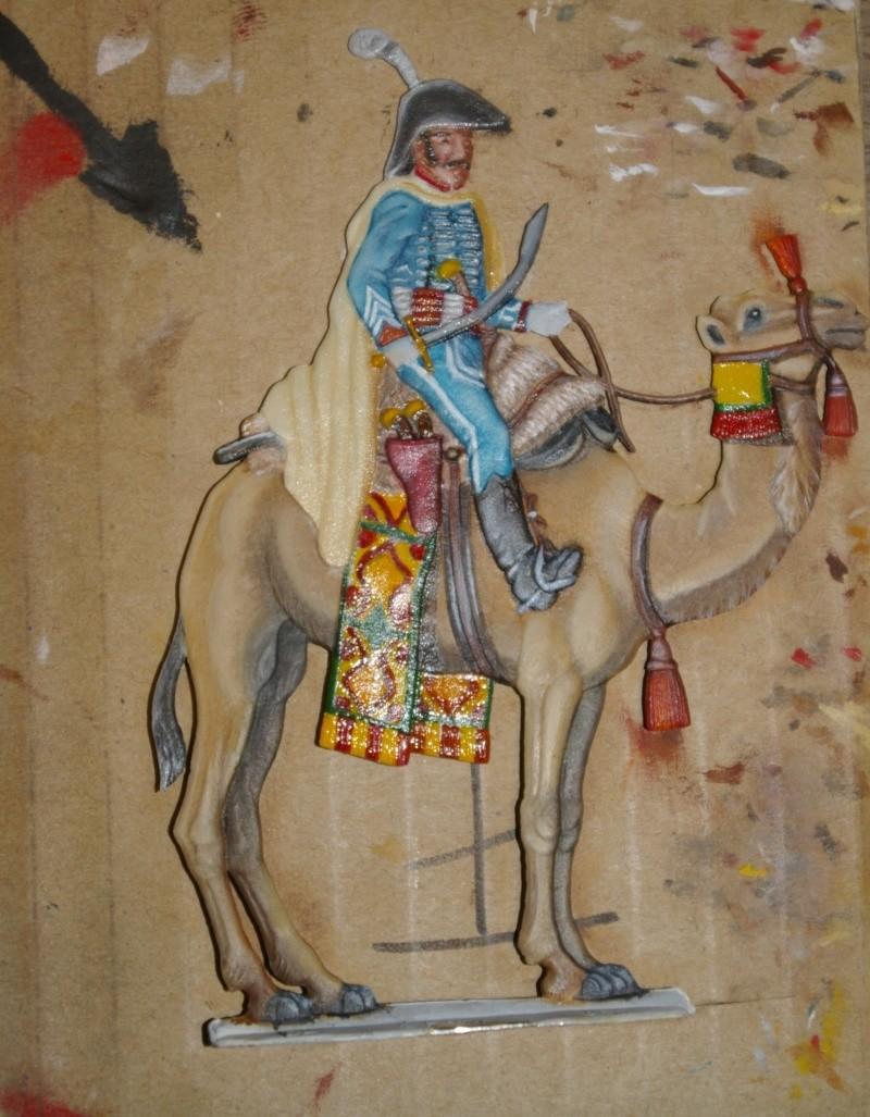 officier régiment des dromadaires en Egypte  GLORIOUS EMPIRE 54 MM Drom_035