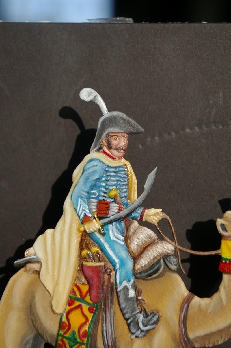 officier régiment des dromadaires en Egypte  GLORIOUS EMPIRE 54 MM Drom_038