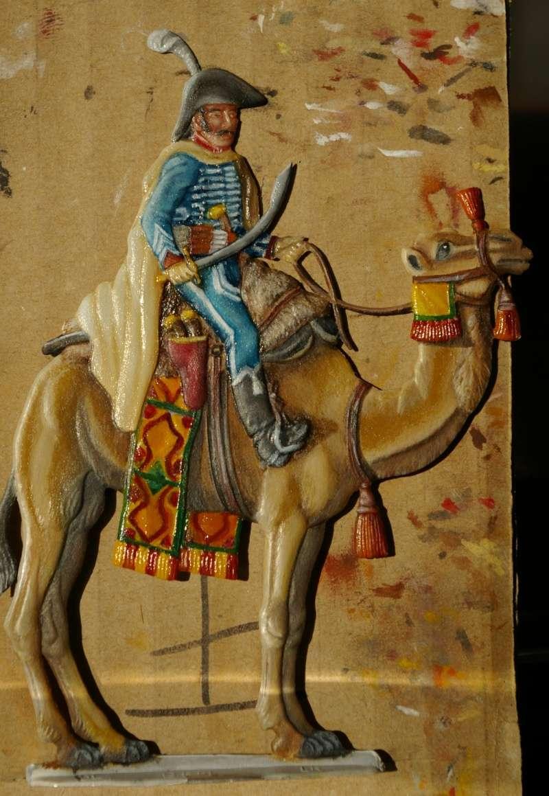 officier régiment des dromadaires en Egypte  GLORIOUS EMPIRE 54 MM Drom_047