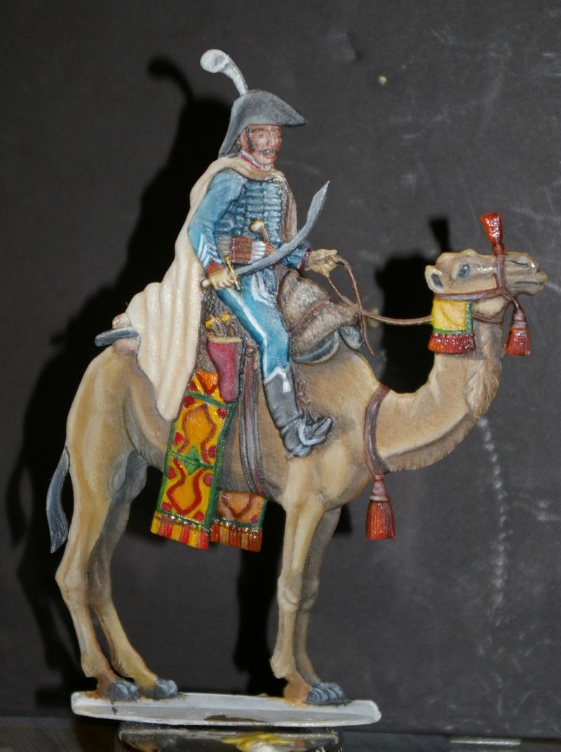 officier régiment des dromadaires en Egypte  GLORIOUS EMPIRE 54 MM Drom_048