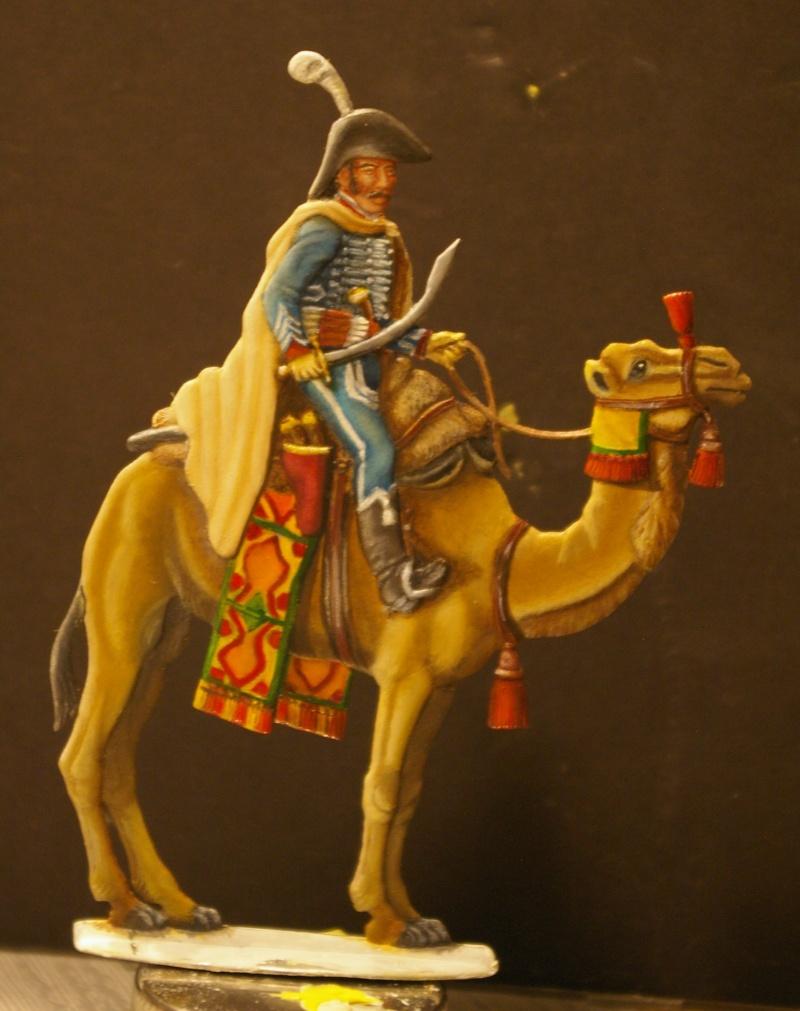officier régiment des dromadaires en Egypte  GLORIOUS EMPIRE 54 MM Drom_049