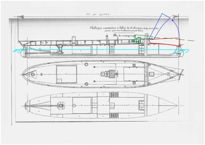 Chaloupe canonnière 1858 - 1:75 Cannon13