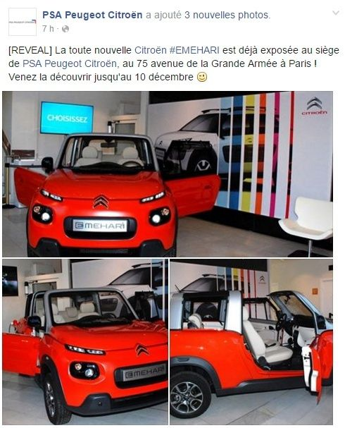 [SUJET OFFICIEL] Citroën E-Mehari - Page 7 Screen10