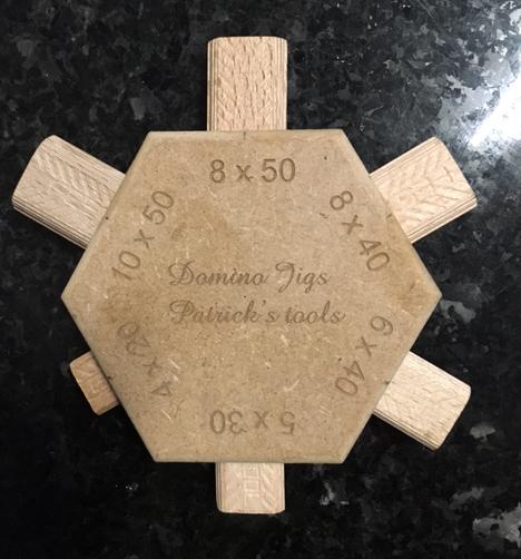 Petit gabarit bien utile pour ma Festool Domino Jig10