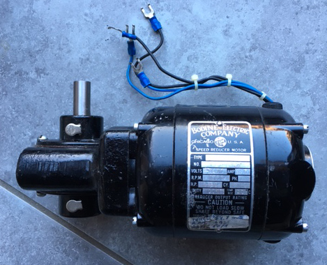 Cablage moteur continu Moto-r10