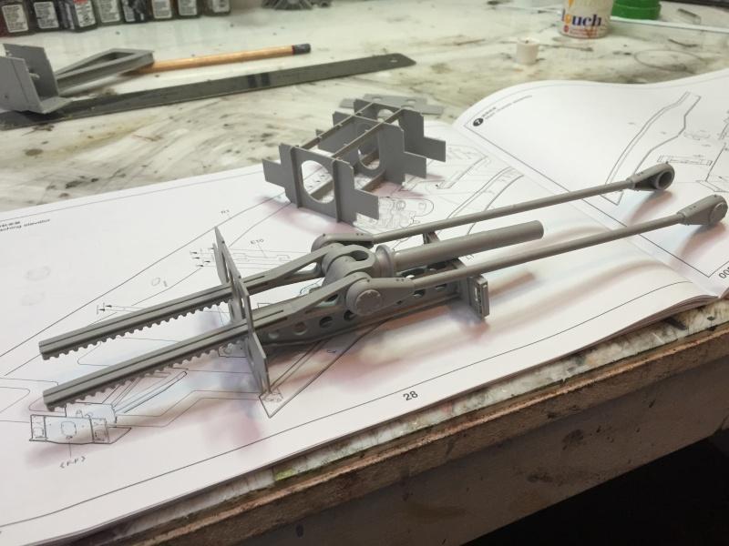 Artillerie en production - Canon Leopold et locomotive C12 Trumpeter - 1/35 Img_2910