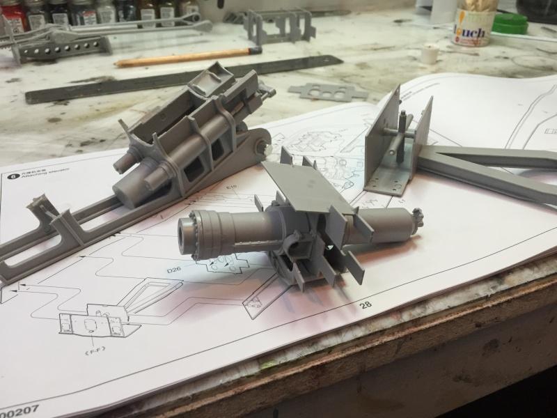 Artillerie en production - Canon Leopold et locomotive C12 Trumpeter - 1/35 Img_2911