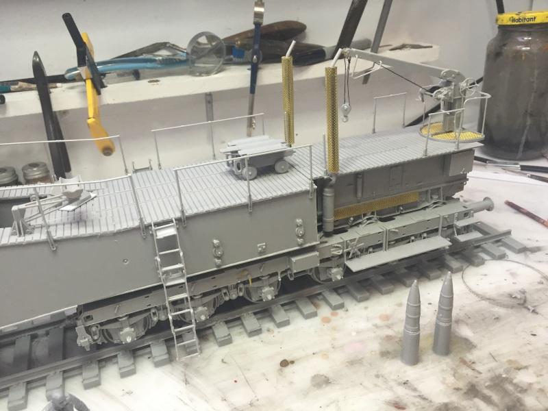 Artillerie en production - Canon Leopold et locomotive C12 Trumpeter - 1/35 Img_2915