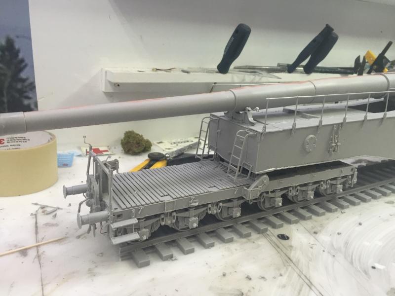 Artillerie en production - Canon Leopold et locomotive C12 Trumpeter - 1/35 Img_2916