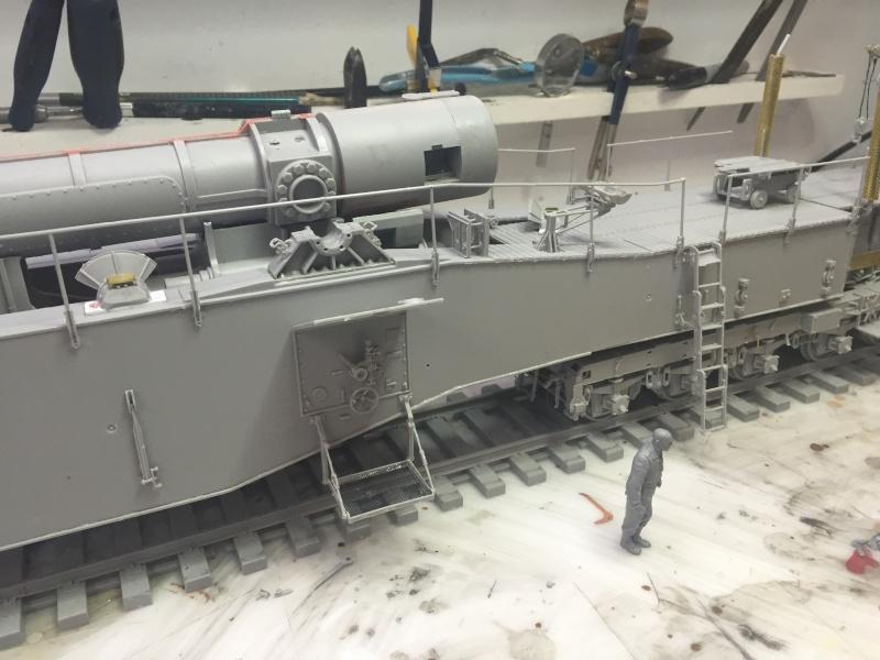 Artillerie en production - Canon Leopold et locomotive C12 Trumpeter - 1/35 Img_2917