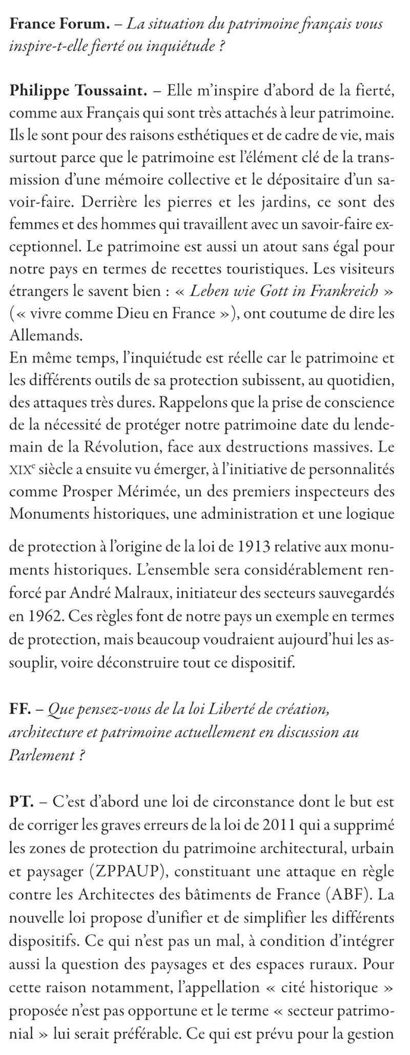 Les VMF et la protection du patrimoine par Philippe TOUSSAINT 120