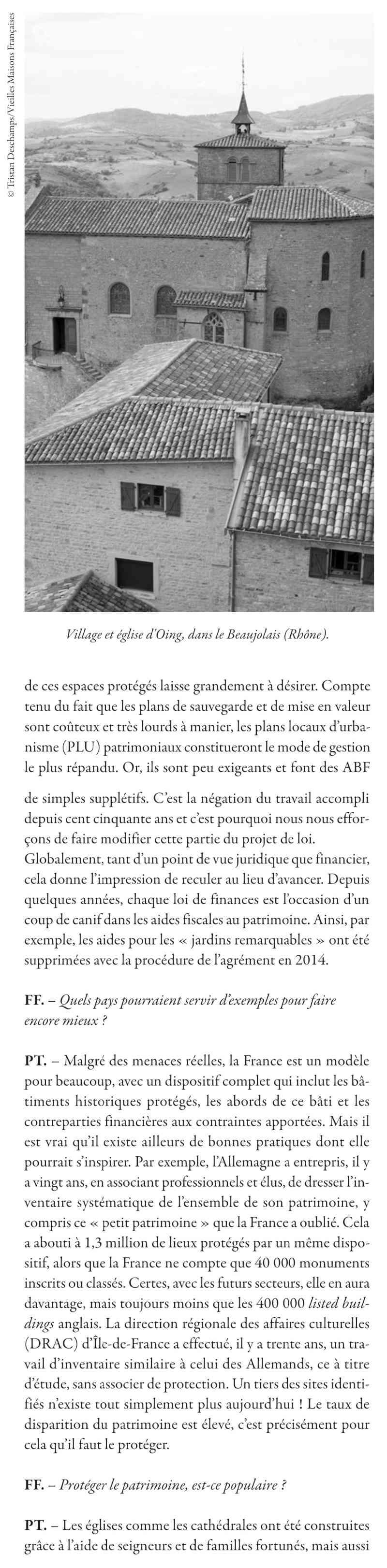 Les VMF et la protection du patrimoine par Philippe TOUSSAINT 213