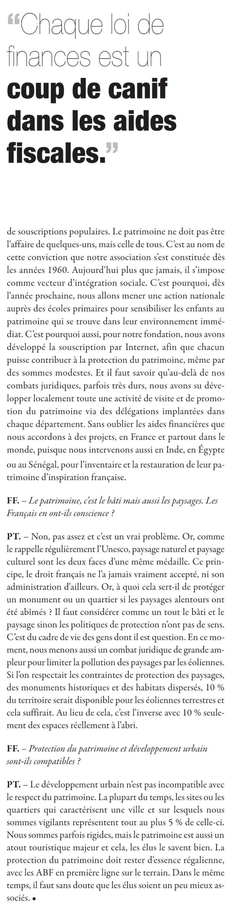 Les VMF et la protection du patrimoine par Philippe TOUSSAINT 311