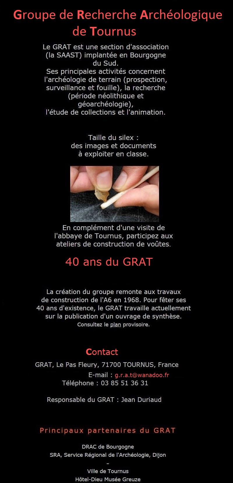 Groupe de Recherche Archéologique de Tournus Grat_113