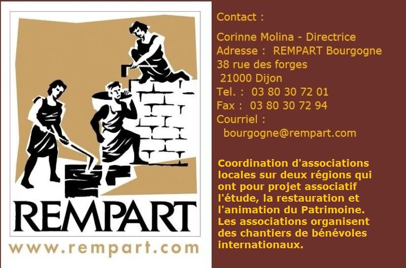 Présentation de l'Association Rempart Bourgigne Rempar11
