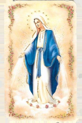 Neuvaine de l'Immaculée Conception (du 30 novembre au 8 décembre) Mariec10