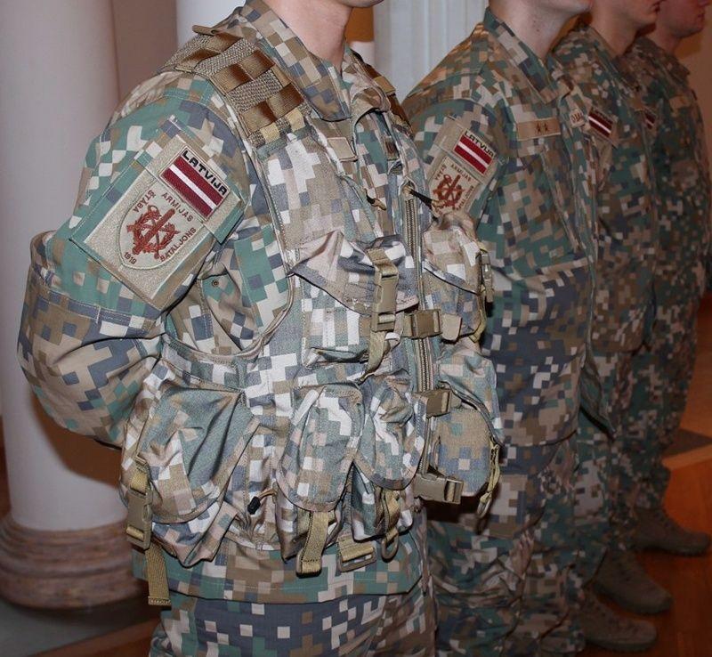 l'Armée Lettone \ Latvian Armed Forces 119