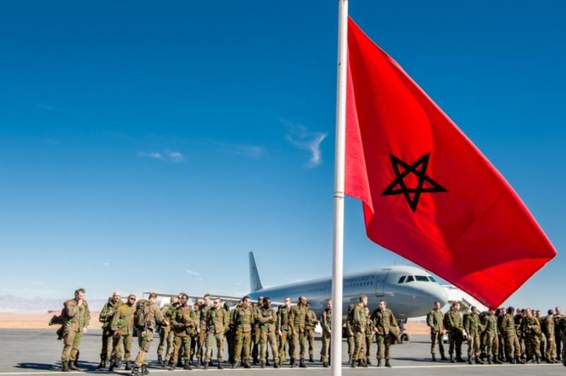 Coopération militaire Maroc-Belgique 12452
