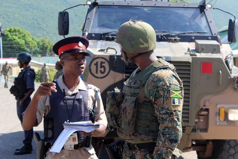 Force de défense de la Jamaïque / jamaica defence force (JDF) 1333