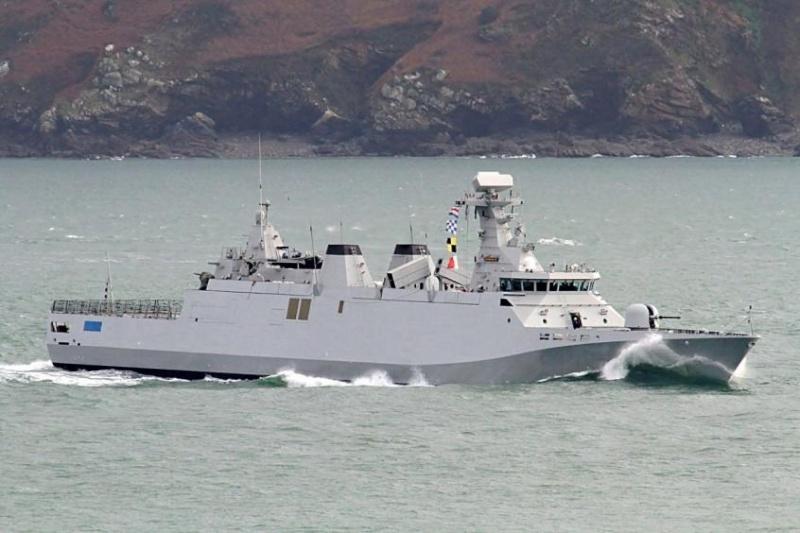 Royal Moroccan Navy OPV-70 / Classe Bir Anzarane - Page 4 13342