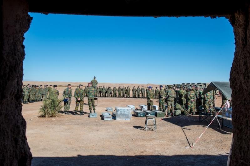 Coopération militaire Maroc-Belgique 13410
