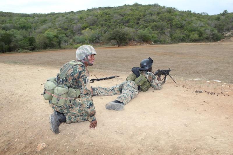 Force de défense de la Jamaïque / jamaica defence force (JDF) 13469